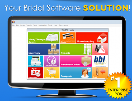 Haven't Updated your Bridal Profit System point of sale Recently?  Best To Do It Now